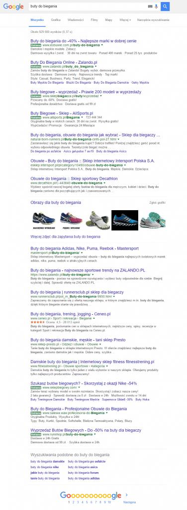 buty-do-biegania-pozycjonowanie